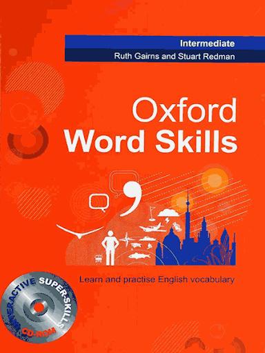 Oxford Word Skills Intermediate سايز بزرگ