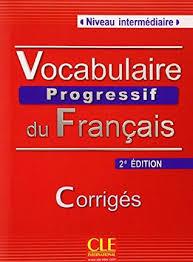 Vocabulaire progressif français - intermediaire